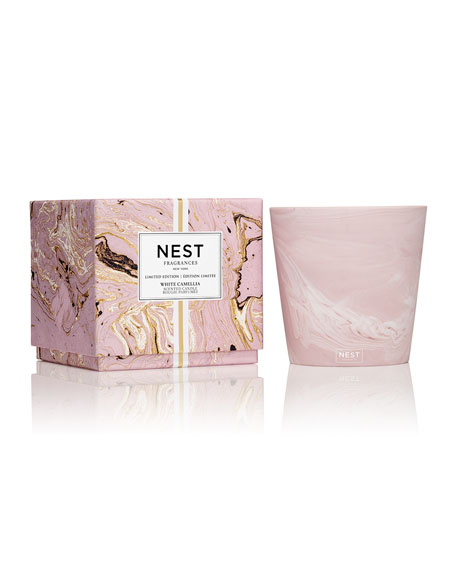 Nest Fragrances Limited Edition White Camellia 3-Wick Candle, 21 oz.