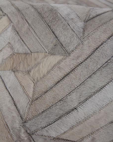 Mali Hairhide Rug, 5' x 8'