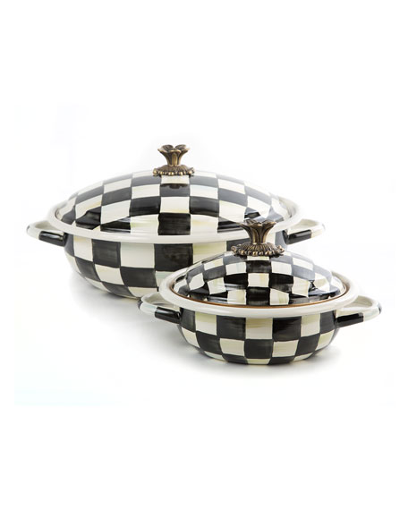 MacKenzie-Childs Courtly Check Casserbole, Small
