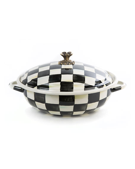 Courtly Check Casserbole, Large