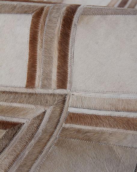 McCall Hairhide Rug, 5' x 8'