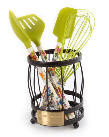 Flower Market Spoon