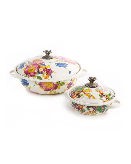 MacKenzie-Childs Flower Market Casserbole, Large