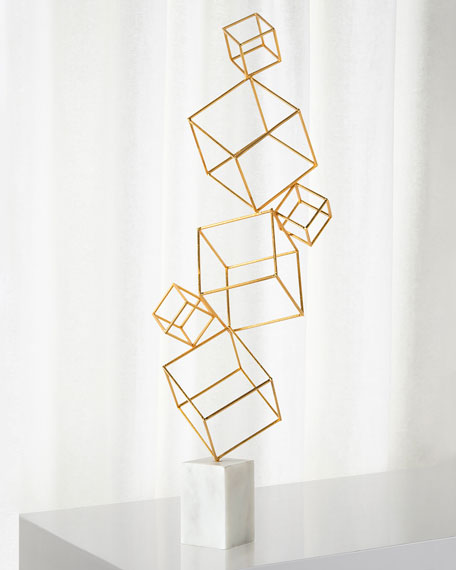 John-Richard Collection Stacking Cubes Sculpture