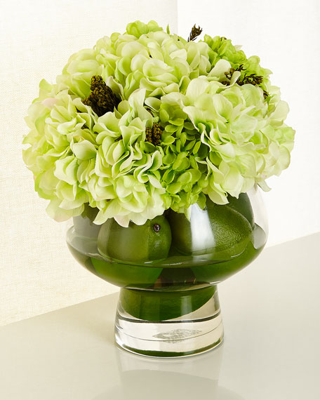 John-Richard Collection Lime Delight Floral Arrangement