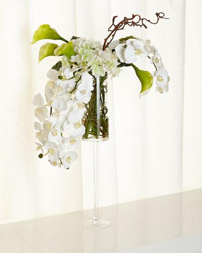 Orchid Calla Floral Arrangement