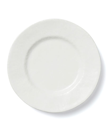 Lace White Dinner Plate