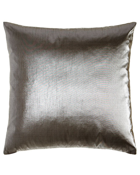 D.V. Kap Home Metaux Pewter Pillow, 22