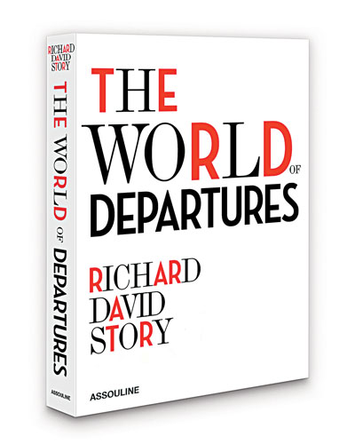 the world of departures hardcover book - Home Decor For Sale