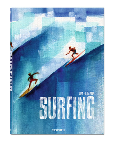 Surfing Hardcover Book
