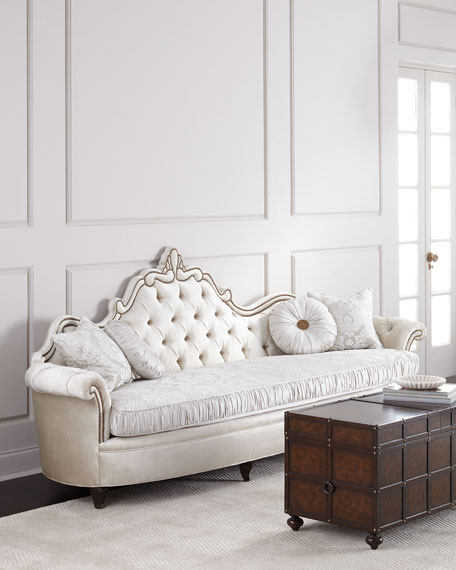 Haute House Josephine Tufted Back Sofa