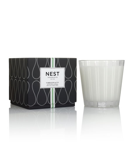 Nest Fragrances Tarragon & Ivy 3-Wick Candle, 21.2