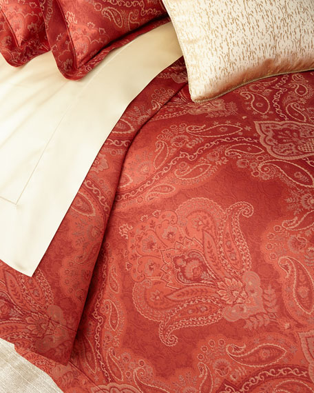 Full/Queen Floral Paisley Duvet Cover