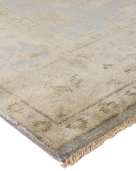 Exquisite Rugs Annetta Antique Oushak Rug, 9' x