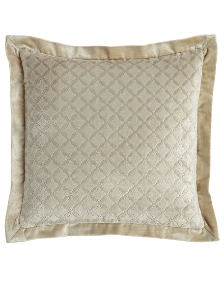 "Chateau Pillow, 18""Sq."