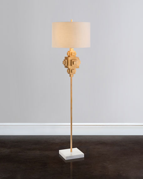 John-Richard Collection Constructiveness Illuminated Floor Lamp