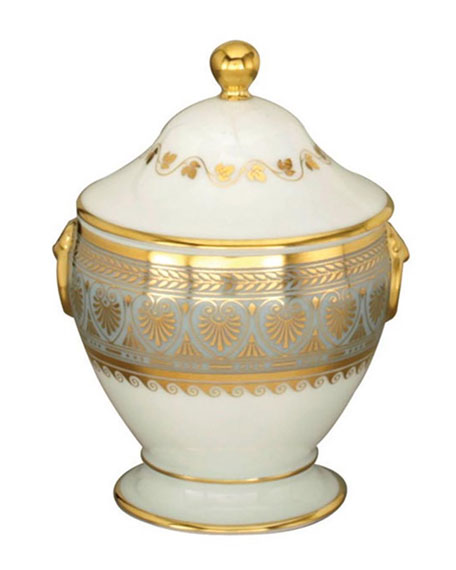 Bernardaud Elysee Covered Sugar Bowl
