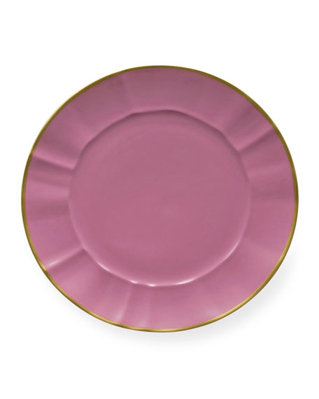 Anna Weatherley Anna Weatherly Pink Charger Plate