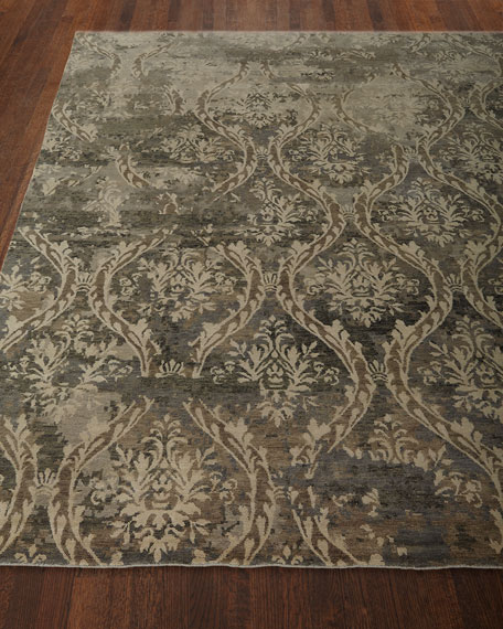 Royal Manor Wool Rug, 4' x 6'