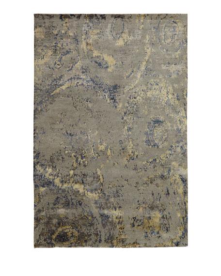 Perla Marble Rug, 4' x 6'
