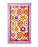 Image 1 of 2: Honeycomb Beach Towel, Lavender