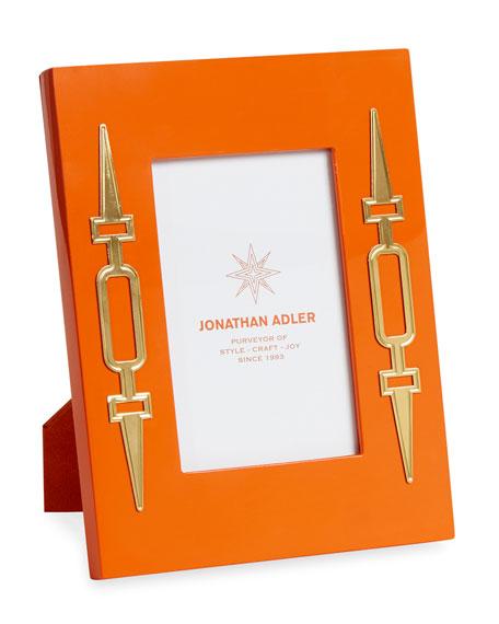 Jonathan Adler Turner Lacquer Frame, Orange, 4
