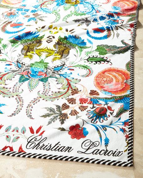Christian Lacroix Noailles Jour Beach Towel