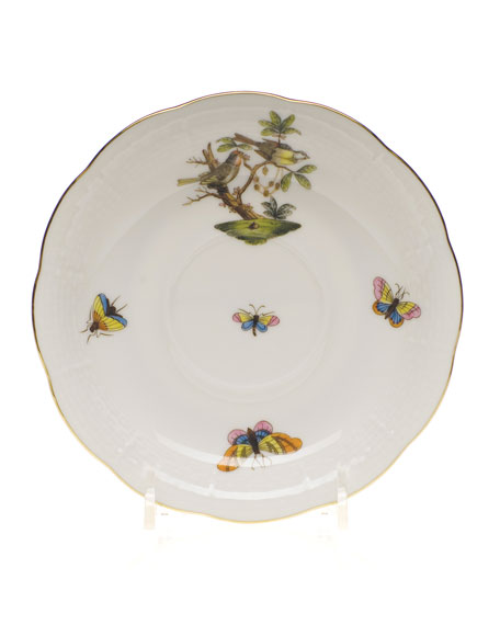 Herend Rothschild Bird Saucer #11