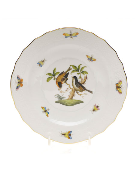 Herend Rothschild Bird Salad Plate #12