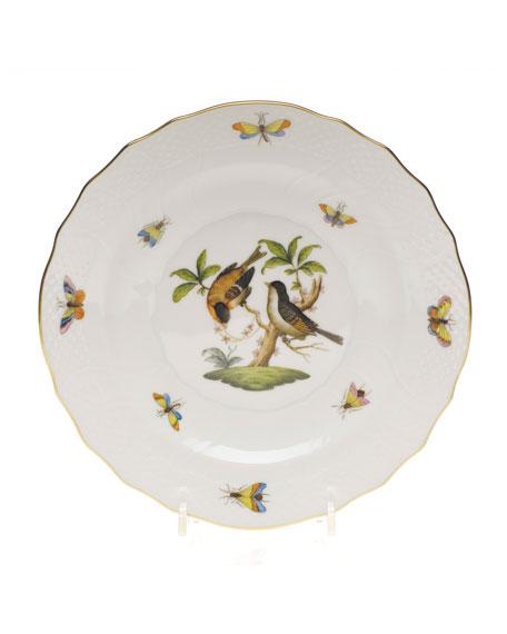 Herend Rothschild Bird Salad Plate #12