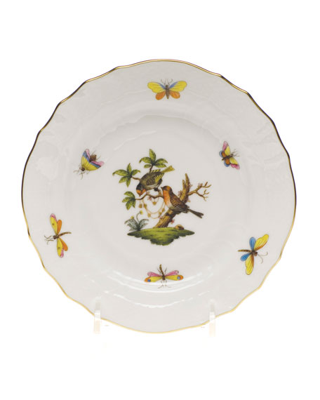 Herend Rothschild Bird Bread & Butter Plate #10