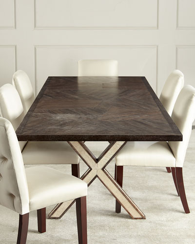 Seryln X Leg Dining Table