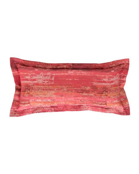 "Mosaic Double Boudoir Pillow, 15"" x 35"""