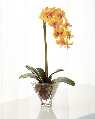 Orchid Phalaenopsis Faux Floral