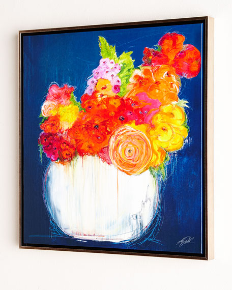 """Bouquet II"" Giclee on Canvas Wall Art"