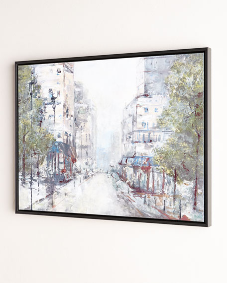 """About Town"" Giclee on Canvas Wall Art"