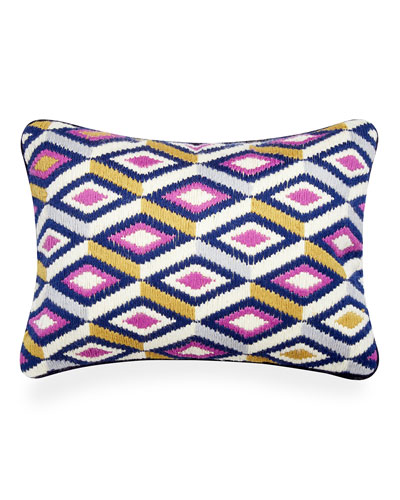 Diamonds Bargello Pillow