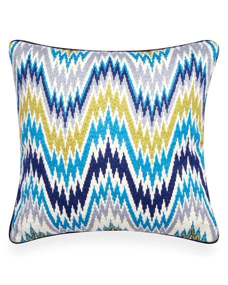Jonathan Adler Worth Avenue Bargello Pillow and Matching