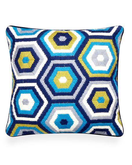 Jonathan Adler Honeycomb Bargello Pillow