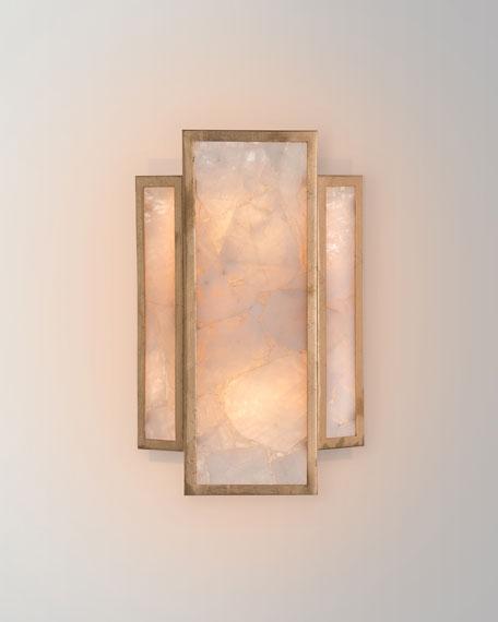 John-Richard Collection Calcite 2-Light Wall Sconce