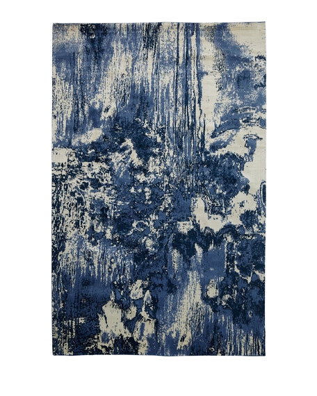 "Dropping Waterfall Rug, 5'6"" x 8'"