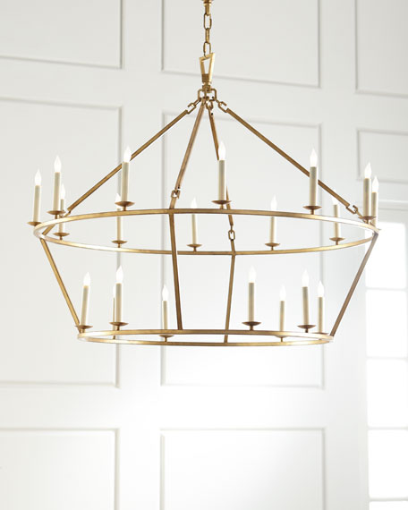 Visual comfort darlana large two tiered ring chandelier neiman marcus darlana large two tiered ring chandelier aloadofball Gallery