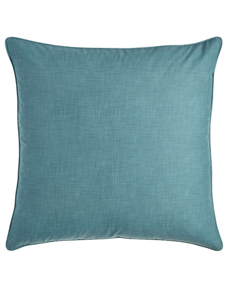 Aegean Grid European Sham, Blue