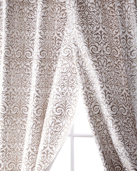 Creative Threads Kashaya Linen/Cotton Curtain, 96