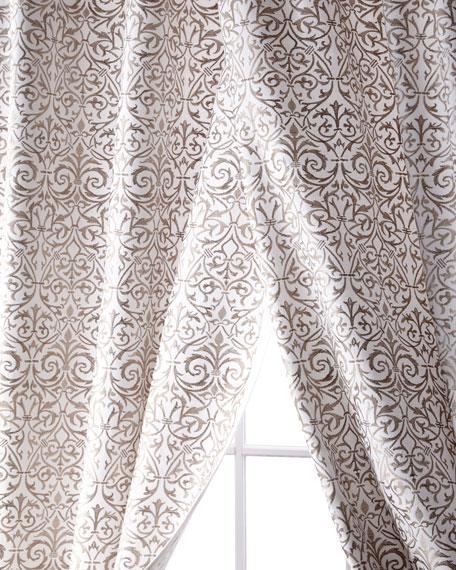 """Kashaya Linen/Cotton Curtain, 108"""""""