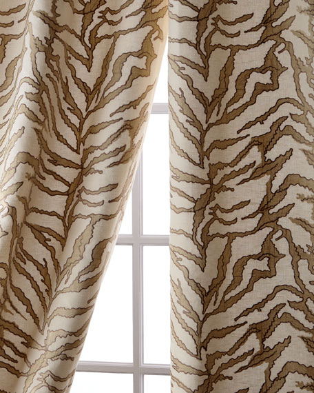 Creative Threads Sherwood Linen/Cotton Curtain, 108
