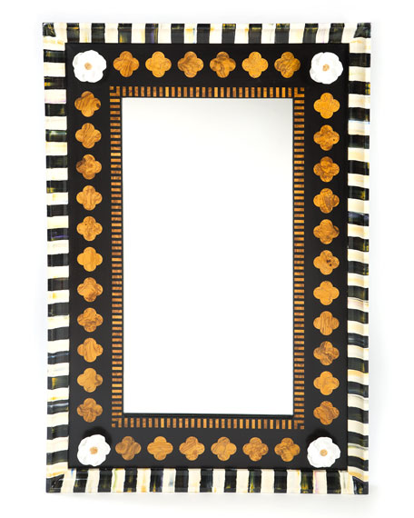 MacKenzie-Childs Quatrefoil Mirror