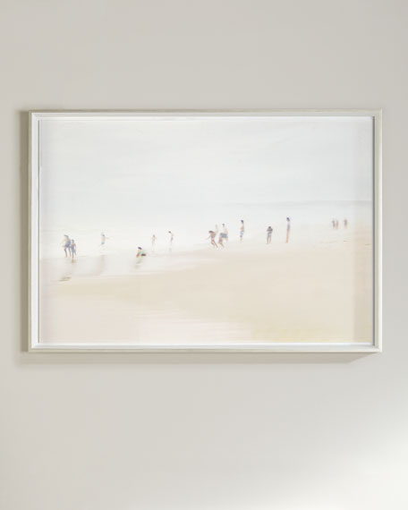 48 x 33 Beach Scene