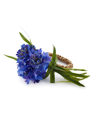 CORNFLOWER NAPKIN RING