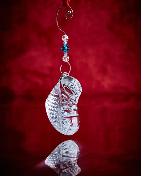 Waterford Crystal Annual Baby's 1st Ornament